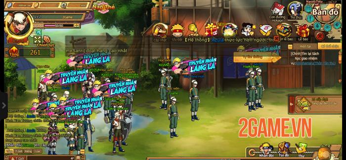 Tặng 444 giftcode webgame Naruto Truyền Nhân Làng Lá 0