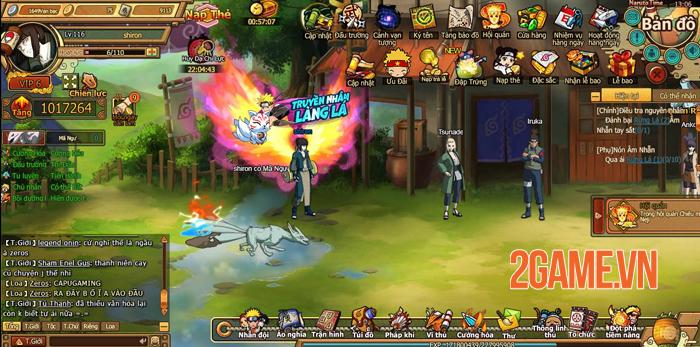 Webgame Naruto Truyền Nhân Làng Lá đưa cảm giác nhập vai đánh theo lượt trở lại 0
