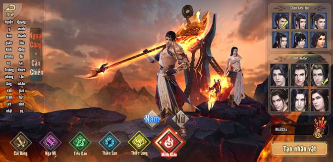 Tân Thiên Long Mobile VNG không giới hạn và rập khuôn người chơi theo những luật lệ game 0