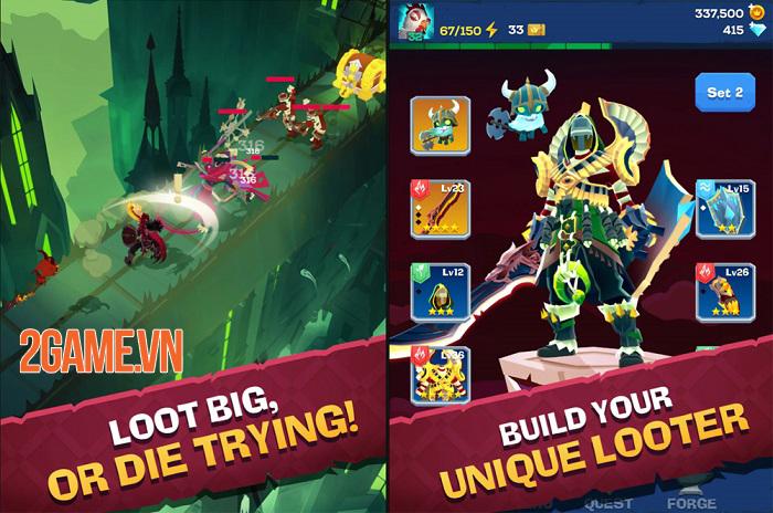 Mighty Quest For Epic Loot sở hữu phong cách chiến đấu giống Diablo 0
