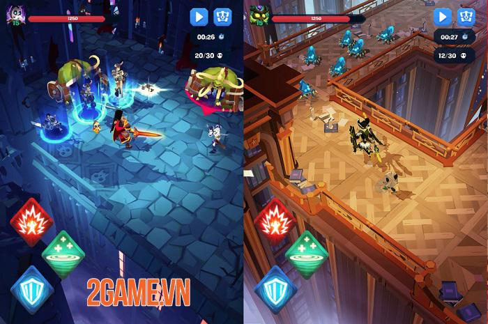 Mighty Quest For Epic Loot sở hữu phong cách chiến đấu giống Diablo 2
