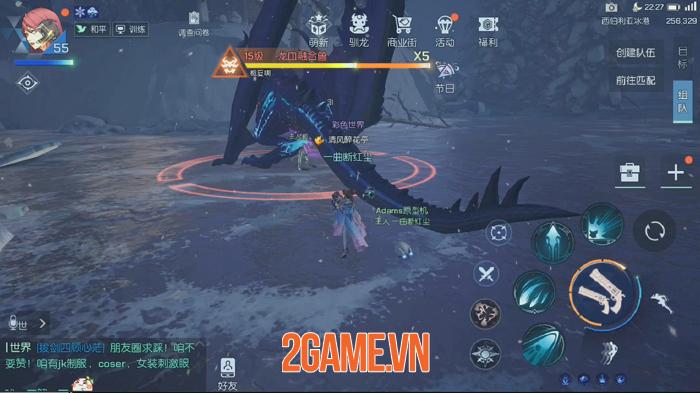 Game nhập vai thế giới mở Dragon Raja được Tencent phát hành có đồ họa tuyệt đẹp 4