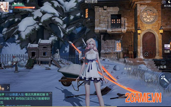 Game nhập vai thế giới mở Dragon Raja được Tencent phát hành có đồ họa tuyệt đẹp 3