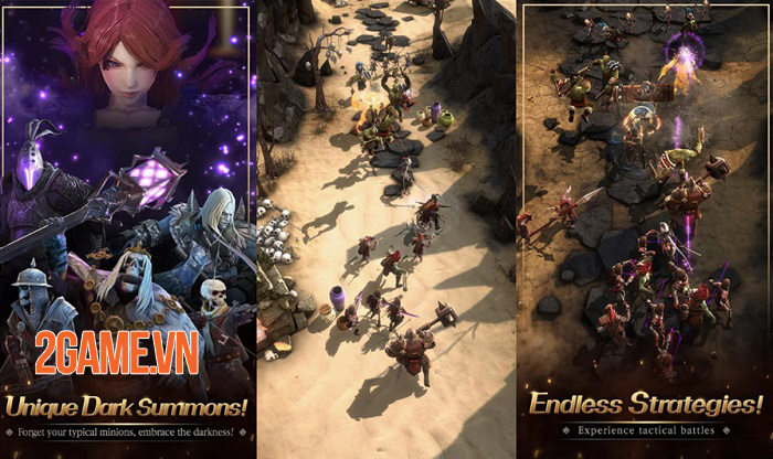 Game nhập vai First Summoner mở ra một thế giới phép thuật ly kỳ 1