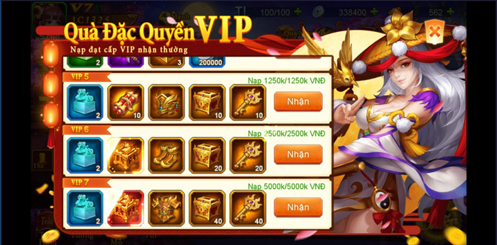Danh Tướng 3Q VNG tặng quà lên đến 5 triệu đồng khi ra mắt server đặc biệt 2