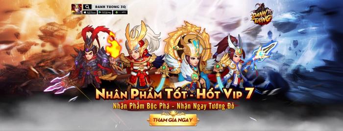 Danh Tướng 3Q VNG tặng quà lên đến 5 triệu đồng khi ra mắt server đặc biệt 5