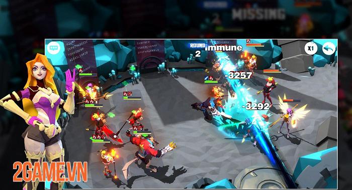 GrimmHeroes - Game nhập vai ủy thác sở hữu chế độ chiến trường kiểu mới 0