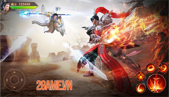 Thiên Kiếm Mobile là game chuyển thể từ PC đã tồn tại 10 năm ở thị trường Trung Quốc 2