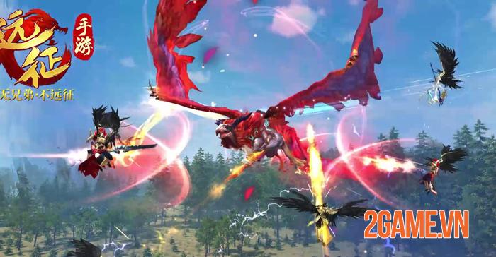 Thiên Kiếm Mobile là game chuyển thể từ PC đã tồn tại 10 năm ở thị trường Trung Quốc 5