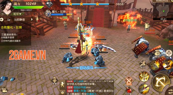 Thiên Kiếm Mobile là game chuyển thể từ PC đã tồn tại 10 năm ở thị trường Trung Quốc 3