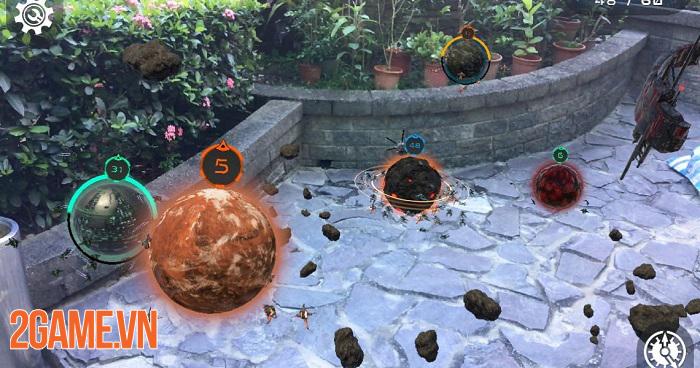 Cosmic Frontline AR - Game thực tế ảo bối cảnh không gian vũ trụ 2