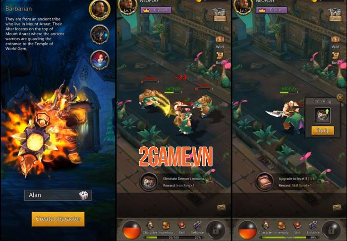 Game nhập vai D3:El Diablo cho phép người chơi sáng tạo đòn đánh cho nhân vật 0
