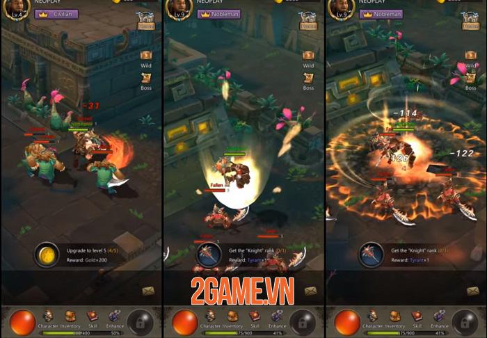 Game nhập vai D3:El Diablo cho phép người chơi sáng tạo đòn đánh cho nhân vật 2