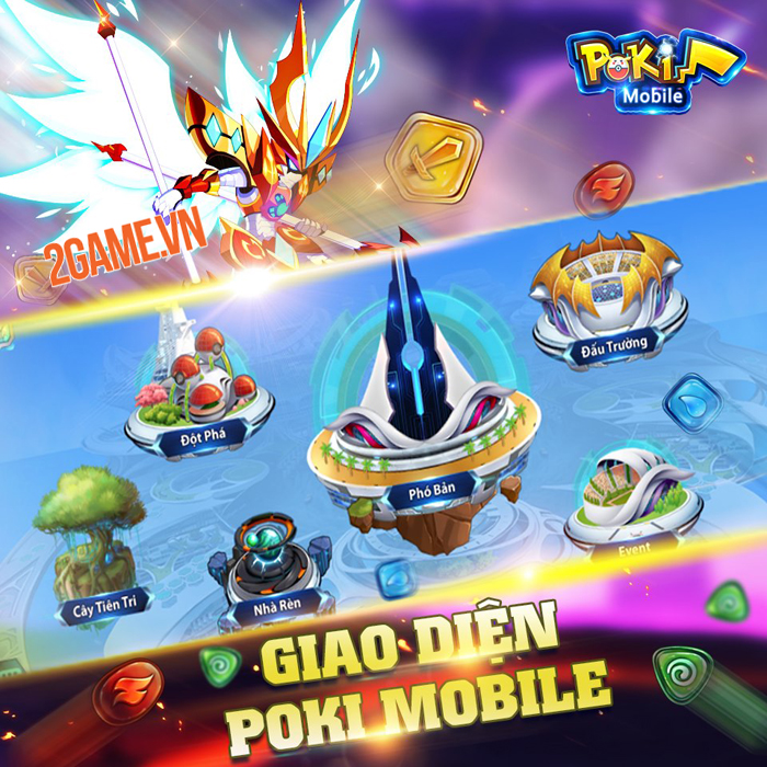 Poki Mobile là phiên bản di động của webgame ăn khách Pokiwar 4