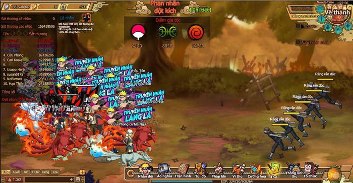 Fan Naruto nói gì về webgame Truyền Nhân Làng Lá? 2