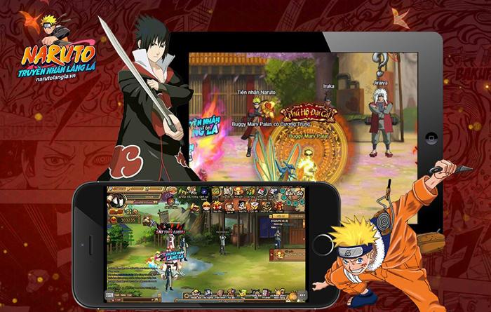 Fan Naruto nói gì về webgame Truyền Nhân Làng Lá? 3