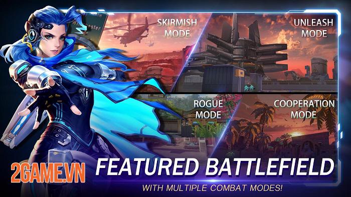 Speedy Gunfire: Striking Shot - Game MOBA bắn súng có tiết tấu nhanh nhất từ trước đến nay 3