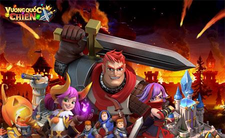 Trải nghiệm Vương Quốc Chiến Mobile – Game xếp ngọc chiến tướng mới lạ