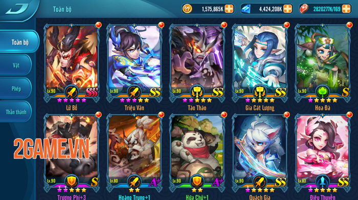 Những lý do khiến Dị Tam Quốc Mobile trở thành một game đấu thẻ tướng rất khác biệt 1