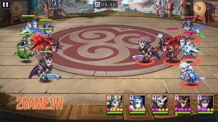 Những lý do khiến Dị Tam Quốc Mobile trở thành một game đấu thẻ tướng rất khác biệt 4