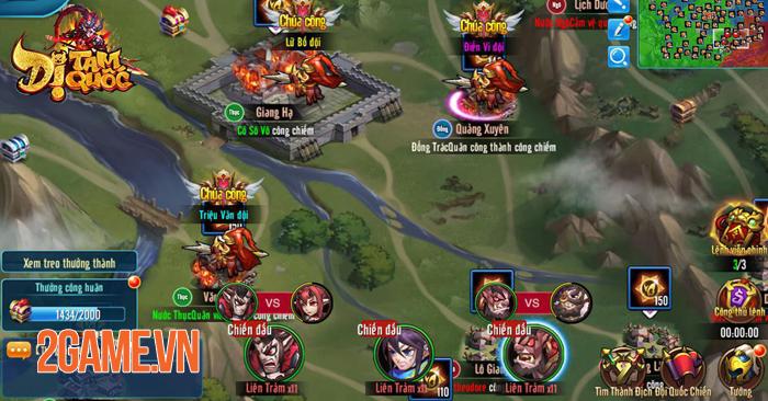 Những lý do khiến Dị Tam Quốc Mobile trở thành một game đấu thẻ tướng rất khác biệt 5