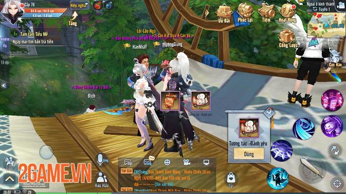 Bất ngờ với số lượng game thủ nữ trong Giang Hồ Ngoại Truyện Mobile chiếm đến hơn 70% 2