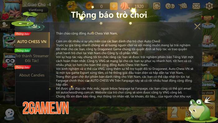 Auto Chess ủy quyền cho VNG phát hành cả bản PC lẫn Mobile tại Việt Nam 1