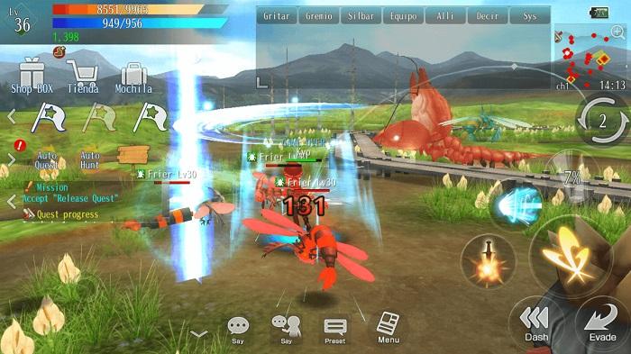 Avabel Lupinus - Game hành động chặt chém có thể tùy biến nhân vật độc đáo 1