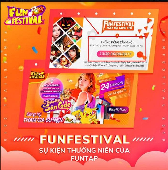 Funtap Festival 2019 - Ngày hội game thủ với quy mô lớn nhất từ trước đến nay 0