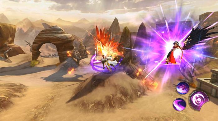 PK trên không - Sân chơi mới lạ chỉ có trong Thiên Kiếm Mobile 3
