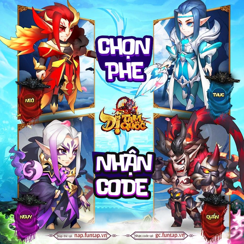 Game đấu thẻ tướng hay ho Dị Tam Quốc Mobile ấn định ngày ra mắt 1
