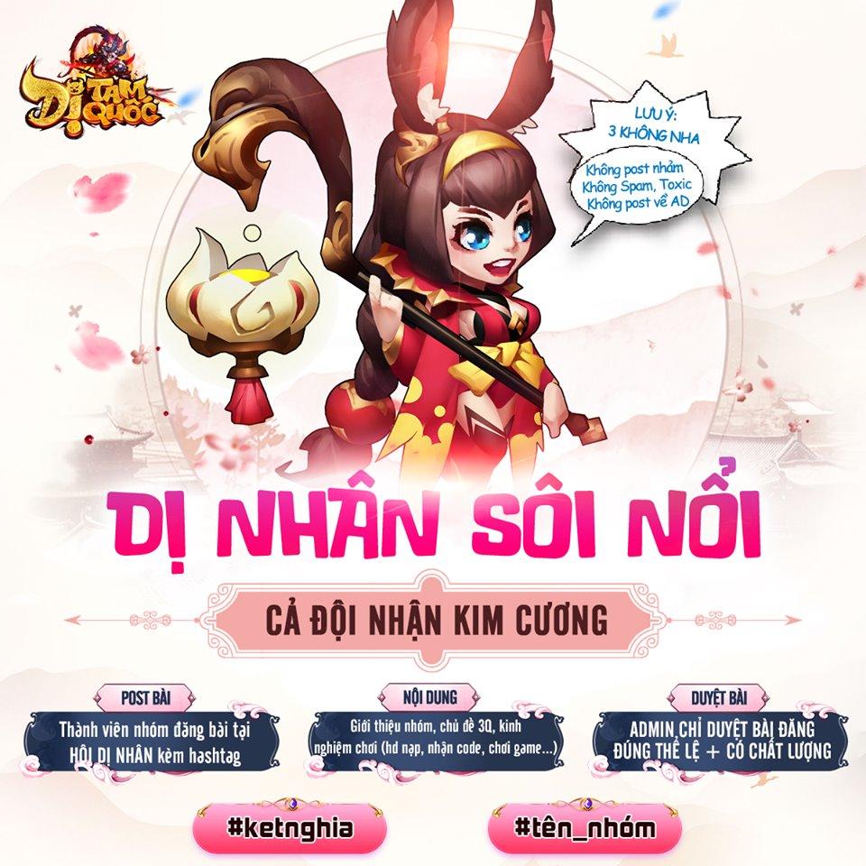 Game đấu thẻ tướng hay ho Dị Tam Quốc Mobile ấn định ngày ra mắt 2