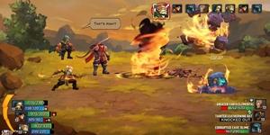 Battle Chasers: Nightwar gây ấn tượng mạnh cả về gameplay và đồ họa