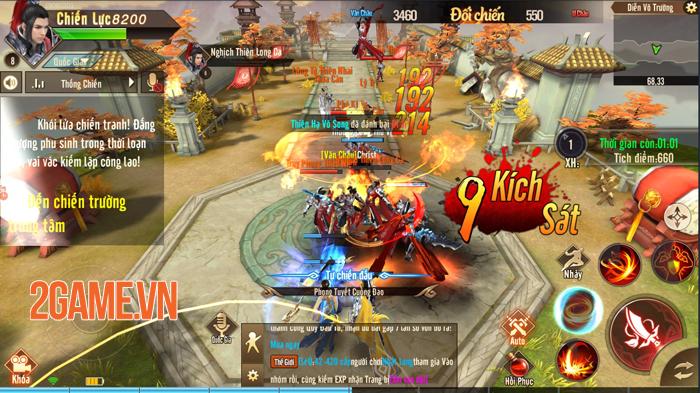 Kiếm Linh và Đao Khách có thể trở thành bộ đôi nguy hiểm trong Thiên Kiếm Mobile 1