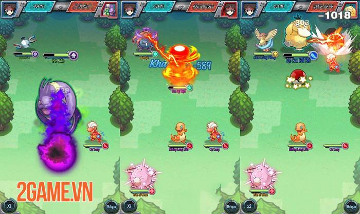 TOP 6 Game Online đấu Pet hay ho dành cho fan cuồng Pokemon 3