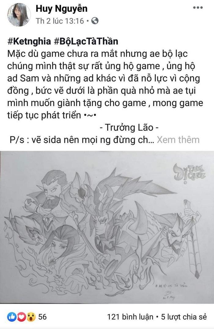 Game thủ Dị Tam Quốc Mobile thi nhau hò hẹn lập team chờ ngày ra mắt 4
