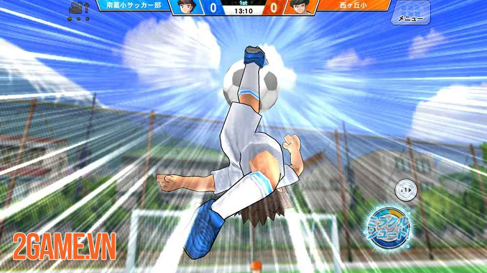 Captain Tsubasa ZERO - Game bóng đá lấy chủ đề manga Captain Tsubasa nổi tiếng 2