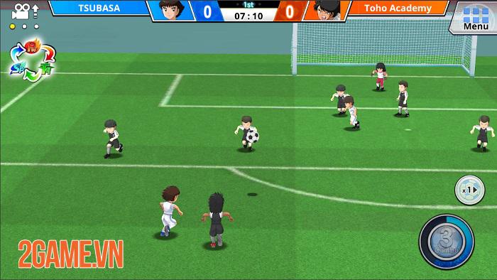Captain Tsubasa ZERO - Game bóng đá lấy chủ đề manga Captain Tsubasa nổi tiếng 1