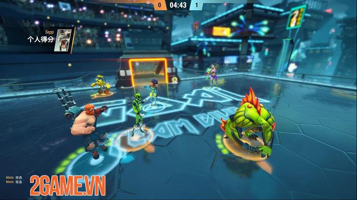 Steel Circus - Game thể thao lấy chủ đề bóng ném tương lai lạ mắt 2