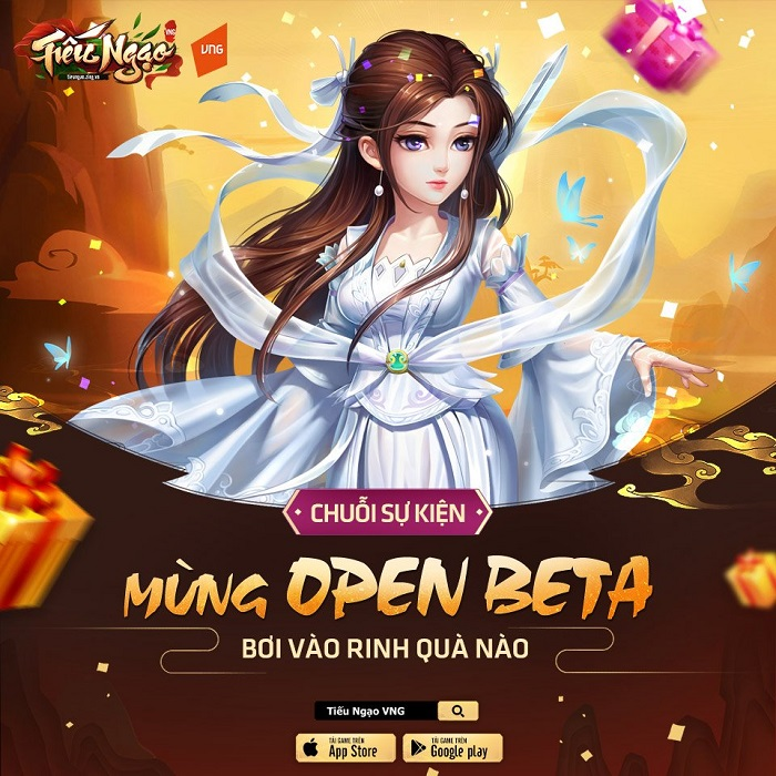 Người chơi Tiếu Ngạo VNG sẽ được nhận free code khủng nhân dịp Open Beta 1