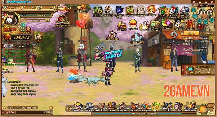 Webgame Naruto Truyền Nhân Làng Lá và những tính năng đặc sắc đáng chú ý 0