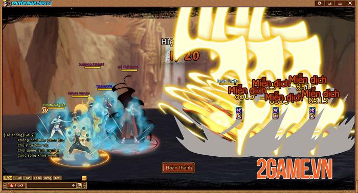 Webgame Naruto Truyền Nhân Làng Lá và những tính năng đặc sắc đáng chú ý 2