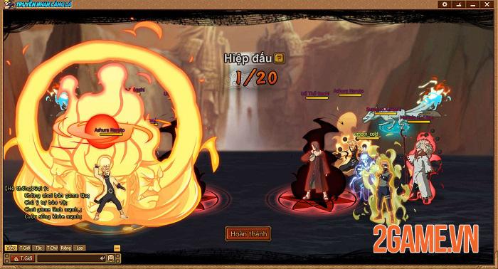 Webgame Naruto Truyền Nhân Làng Lá và những tính năng đặc sắc đáng chú ý 3