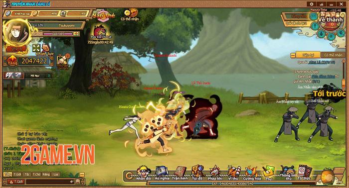 Webgame Naruto Truyền Nhân Làng Lá và những tính năng đặc sắc đáng chú ý 1