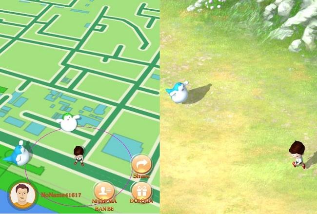 TS GO là game bắt thú cưng phong cách Pokemon GO dành cho fan TS Online Mobile 1