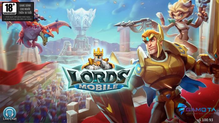 Gamota hợp tác với ông lớn IGG phát hành game Lords Mobile tại Việt Nam 0