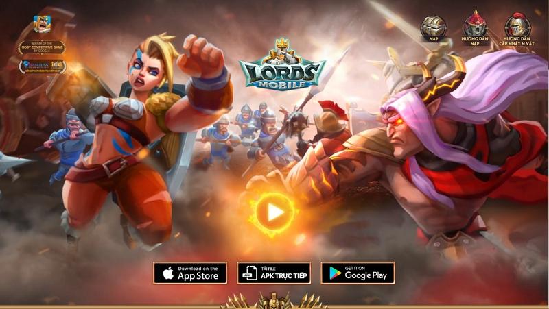 Gamota hợp tác với ông lớn IGG phát hành game Lords Mobile tại Việt Nam 1