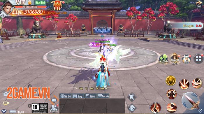 Hiên Viên Mobile là game nhập vai cày cuốc siêu đẹp siêu nhẹ 5