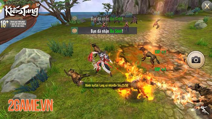 Kiếm Tung 3D - Dự án game nhập vai võ hiệp mới của SohaGame 1