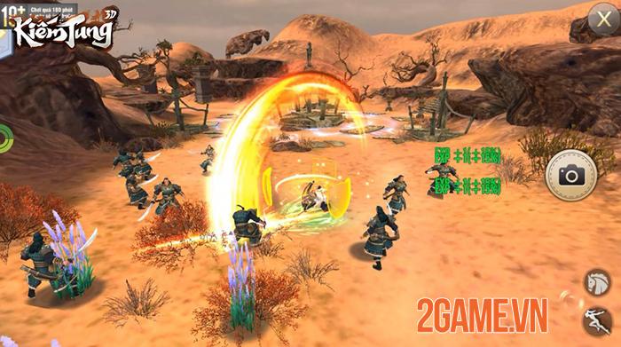 Kiếm Tung 3D - Dự án game nhập vai võ hiệp mới của SohaGame 2